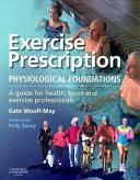 Exercise Prescription