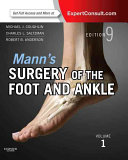 Mann s Surgery of the Foot and Ankle