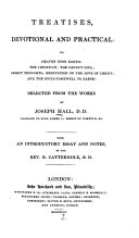 Sacred Classics, Or, Cabinet Library of Divinity: Treatise devotional and practical