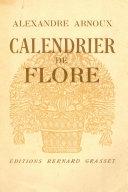Pdf Calendrier de Flore Telecharger