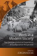 Work in a Modern Society