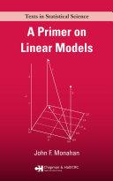 A Primer on Linear Models [Pdf/ePub] eBook