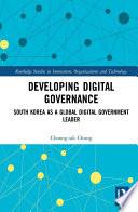 Developing Digital Governance