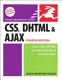 CSS  DHTML  and Ajax  Fourth Edition