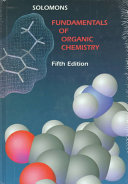 Fundamentals of Organic Chemistry Book