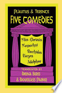 Plautus and Terence  Five Comedies
