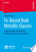 Fe Based Bulk Metallic Glasses Book PDF