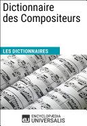 Pdf Dictionnaire des Compositeurs Telecharger
