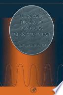 Ultrasonic Techniques For Fluids Characterization Book PDF