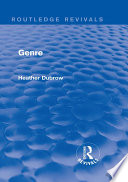 Genre (Routledge Revivals)