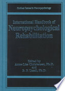 International Handbook Of Neuropsychological Rehabilitation Book