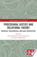 Procedural Justice and Relational Theory