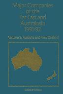 Major Companies of The Far East and Australasia 1991 92