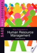 Key Concepts in Human Resource Management Book