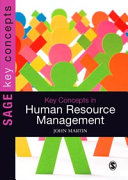Cover of Key Concepts in Human Resource Management
