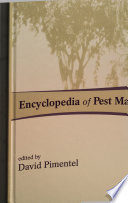 Encyclopedia Of Pest Management Book PDF