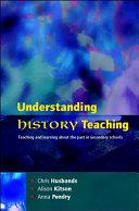 EBOOK  Understanding History Teaching
