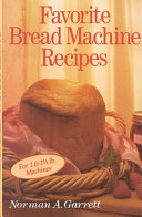 Pdf Favorite Bread Machine Recipes