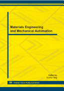 Pdf Materials Engineering and Mechanical Automation Telecharger