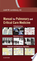 Manual for Pulmonary and Critical Care Medicine E Book