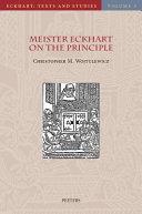 Meister Eckhart on the Principle