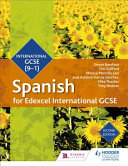 Books - Edexcel International Gcse Spanish | ISBN 9781510403345