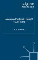 European Political Thought  1600 1700