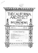 The California Architect and Building News