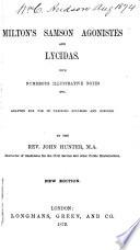 Milton s Samson Agonistes and Lycidas