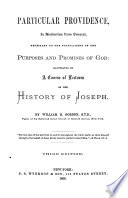 Particular Providence  in Distinction from General  Necessary to the Fulfillment of the Purposes and Promises of God Book