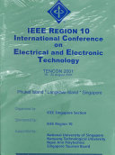 Proceedings of IEEE Region 10 International Conference on Electrical and Electronic Technology Book
