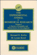 The Experimental Animal in Biomedical Research