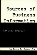 Sources of Business Information