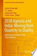 2030 Agenda and India  Moving from Quantity to Quality Book