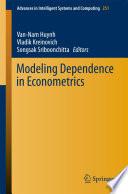 Modeling Dependence in Econometrics