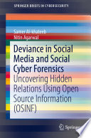 Deviance in Social Media and Social Cyber Forensics Book