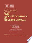 Composite Materials  6th Japan US Conference