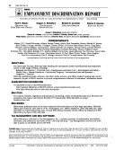 BNA s Employment Discrimination Report Book
