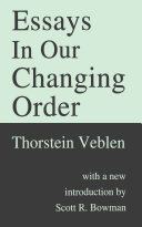 Essays in Our Changing Order Pdf/ePub eBook