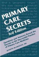 Primary Care Secrets