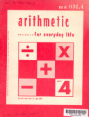 Arithmetic for Everyday Life
