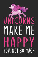 Unicorns Make Me Happy You  Not So Much