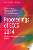 Proceedings Of Eccs 2014 Book PDF