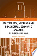 Private Law  Nudging and Behavioural Economic Analysis