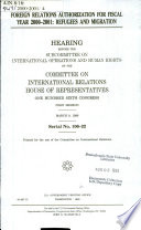 Foreign Relations Authorization For Fiscal Year 2000 2001