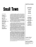 Pdf Small Town
