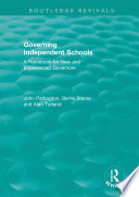 Governing Independent Schools