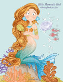 Little Mermaid Girl Coloring Book for Kids 1