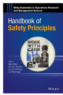 Handbook of Safety Principles Pdf/ePub eBook
