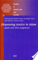 Dispensing Justice In Islam
